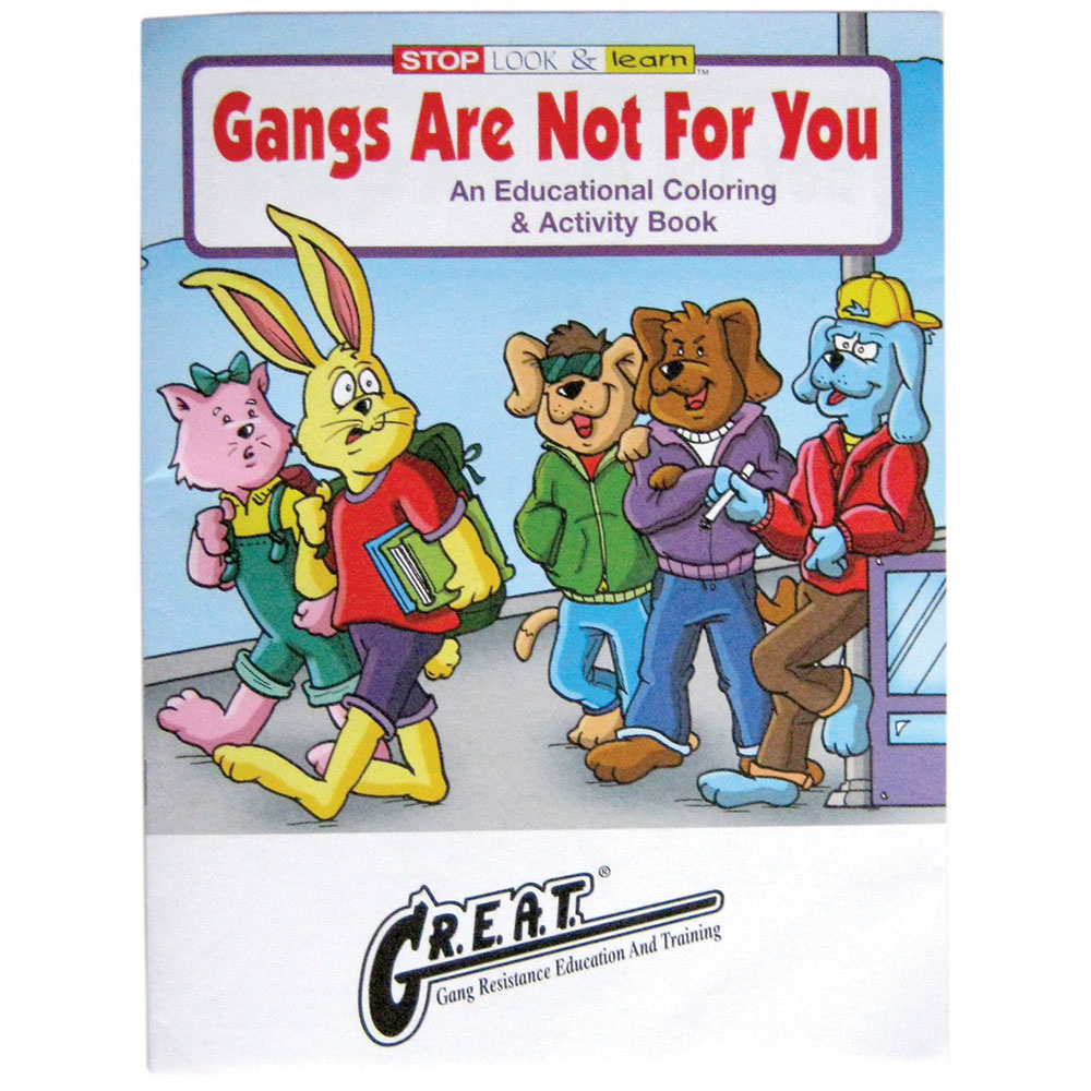 GANGS COLORING/ACTIVITY BOOK
